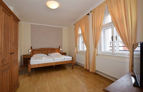 Room No. 18, Accommodation Český Krumlov - At the Trumpeter's