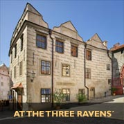 Pension At the Three Ravens´ - Accommodation Cesky Krumlov